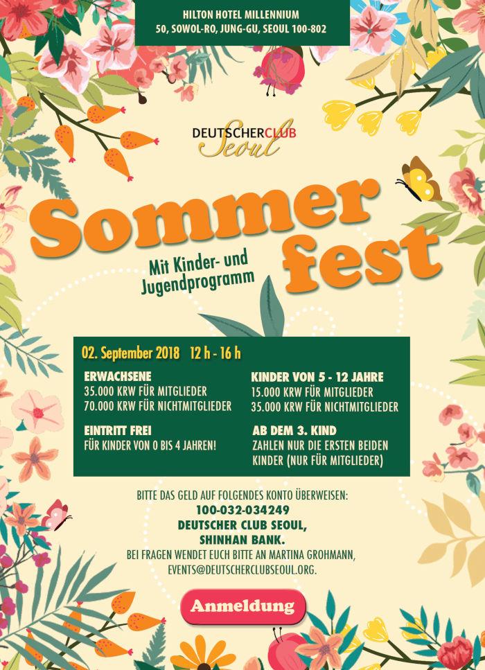 Flyer Sommerfest